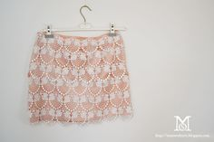 Find DIY Fashion: Doily lace skirt Tutorial in DIY & Crafts on Wish to Find. Diy Lace Skirt, Skirt Tutorial, Diy Tutorial, Formal Bridesmaids Dresses, How To Make Tutu, Diy Shorts, Spring Skirts, Lace Doilies, Clothes Crafts