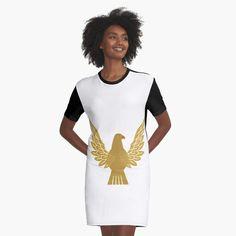 I Dress, Shirt Dress, Bird Design, Gourds, Chiffon Tops, Graphic Design, Art Prints, Printed, Brown