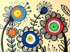 krokrotak draw flowers