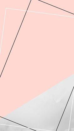 Geometric Wallpaper Iphone, Rose Gold Wallpaper, Cute Pastel Wallpaper, Framed Wallpaper, Phone Screen Wallpaper, Graphic Wallpaper, Pink Wallpaper Iphone, Aesthetic Iphone Wallpaper, Aesthetic Wallpapers
