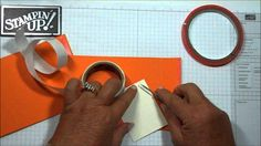 """this card called """"the wiper"""" card.it's a pop up card and the tag pops up like a window wiper. Flip Cards, Fun Fold Cards, Pop Up Cards, Folded Cards, Card Making Tips, Card Making Tutorials, Card Making Techniques, Making Ideas, Dawn Griffith"""