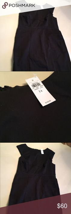 *NWT* LBD! Ann Taylor Sheath Dress Perfect for work or any party! Brand new Ann Taylor black sheath. Can be accessorized for the holidays or worn under a blazer. Ann Taylor Dresses Midi