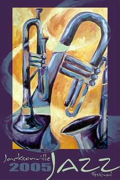 jacksonville jazz festival posters   Shop > 2005 Commemorative Jacksonville Jazz Festival Poster - Unsigned
