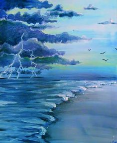 133 Best Painting Beach Ocean Images Paint Sip Painting Art