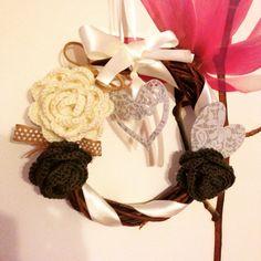 Ghirlanda uncinetto #uncinetto #crochet
