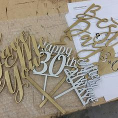 Cake topper day is my fun day in the shop...