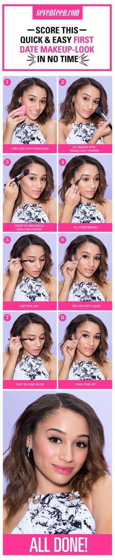 Quick & Easy First Date Makeup - First Date Makeup Tips
