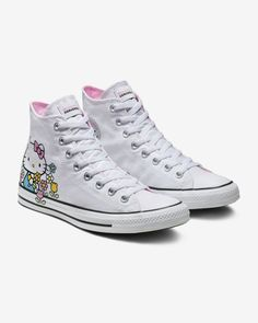 3295dc06d667 Converse x Hello Kitty Chuck Taylor All Star High Top Unisex Shoe