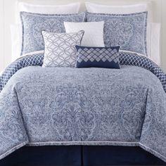 Liz Claiborne® Arabesque 4-pc. Comforter Set - JCPenney