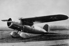 Lockheed Vega Y1C-17 (alloy-bodied Vega 5C built under licence by the Detroit Aircraft Corporation for U.S. Army Air Corps) (c. 1931) (USAAC)