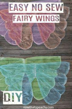 Fairy Costume Kids, Fairy Wings Costume, Diy Fairy Wings, Diy Wings, Diy Butterfly Costume, Diy Princess Costume, Easy Diy Costumes, Creative Costumes, Fairy Tea Parties