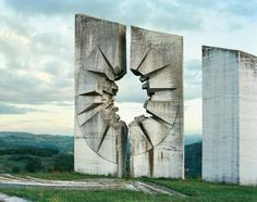 Monument in former Yugoslavia. Photo by Jan Kempenaers