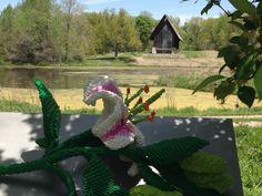 Lego flower at Powell Gardens, MO