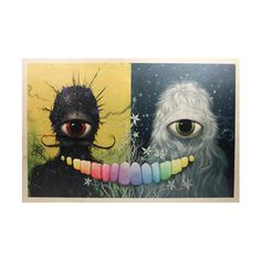 Mother and Father Wood Print by Jeff Soto
