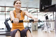 The Rowing Machine is one of the most intense cardio workouts you can do in the gym. Here's how to do it. (LOVE working on this thing, SO much!)