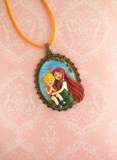 Naruto and Kushina *Motherlove Collection* Cameo by LittleBreeze.deviantart.com on @DeviantArt