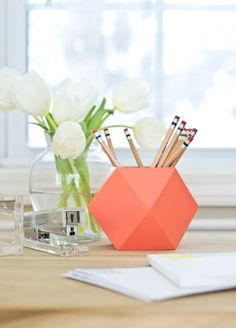 Organize your desk for fall.