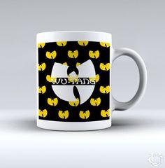 Rap Music Wu tang Logo White Mug