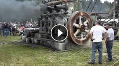 1936 Fairbanks Morse Model 32D Stationary Engine Shakes the Ground Once Again - Wicked sound!!! The Model 32 engines were in service for years in power stations, man