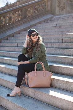 Chanel Slingback Dupes With Casual Outfit