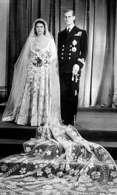 Princess Elizabeth, The Future Queen, Weds Prince Phillip, November 1947