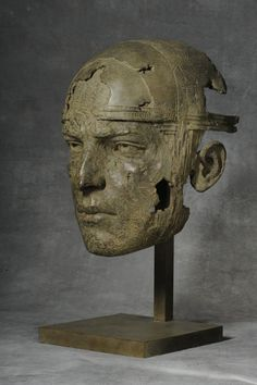 Human Sculpture, Sculpture Art, Art Moderne, Ceramic Artists, Cool Artwork, Les Oeuvres, Sculpting, Painting, Faces