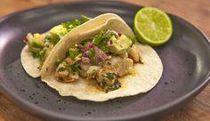Prawn and Avocado Taco
