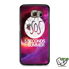 5 Seconds Of Summer Samsung Galaxy S7 Edge Case