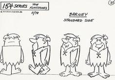 Cartoon Concept Design: Flintstones Model Sheets