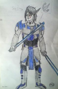 Soqruta Kisheck   (Both of these Jedi were created and drawn by Jacob S.)