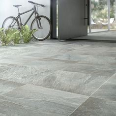 """Domino Garland 18x18"""". Textured tile with quartzite look, perfect for patio"""