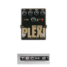 Tech 21 Hot-Rod Plexi Distortion and Boost Pedal