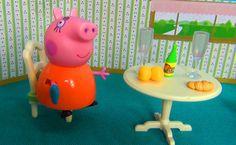 Peppa Pig in english. Peppa and George home alone. Peppa Pig takes care ...
