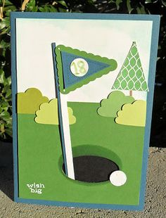 Pennant Parade Golf Card