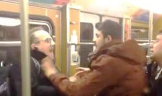 Migrants who attacked pensioners that stood up for harassed woman walk FREE from court  THREE asylum seekers who were arrested for a sickening attack on pensioners on an underground train LAUGHED as they walked free from court.  PUBLISHED: 06:10, Thu, Mar 24, 2016