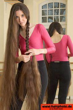 We Love Rapunzel Hair Long Brown Hair, Very Long Hair, Beautiful Long Hair, Gorgeous Hair, Girl Hairstyles, Braided Hairstyles, Rapunzel Hair, Natural Hair Styles, Long Hair Styles