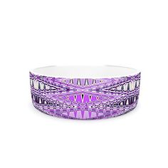 Kess InHouse Nina May Orche Kilim Pet Bowl 475Inch Pink -- Click on the image for additional details.