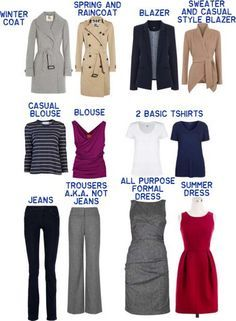 Slightly dressy minimalist wardrobe - 12 pieces INCLUDING outwear! (Not including gym/PJs/underwear) An ideal to ascribe to.