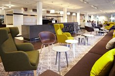 Cool offices: Endinet in Eindhoven, Netherlands – Your Learning Organisation Interior Work, Office Interior Design, Interior Architecture, Corporate Interiors, Office Interiors, Corporate Offices, Modern Offices, Commercial Interior Design, Commercial Interiors