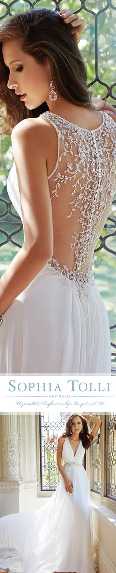 Style No. Y21435 ~ Joanne, Wedding Dresses 2014 Collection – Joanne is a…