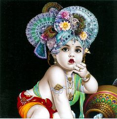 Bal Gopal (Reprint on Card Paper - Unframed)