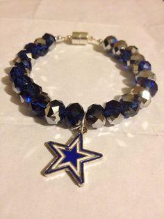 Dallas Cowboys Bracelet  on Etsy, $30.00
