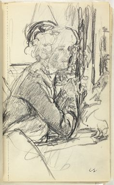 Sketchbook | The Art Institute of Chicago Paris Images, Edouard Vuillard, Post Impressionism, Drawing Artist, Art Institute Of Chicago, Paper Cover, Art Forms, History, Portrait