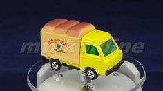 TOMICA 010D SUBARU SAMBAR BAKERY | 1/52 | JAPAN | 010D-01 | FIRST | DARK ROOF 73