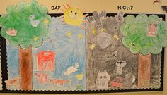 Nocturnal and Diurnal animal categories A Place Called Kindergarten: day and night Lions Cub Scouts - Lion Adventures - Fun On The Run Activity Animal Match Game (page 1st Grade Science, Kindergarten Science, Elementary Science, Science Classroom, Teaching Science, Kindergarten Classroom, Science Education, Science Activities, Science Ideas
