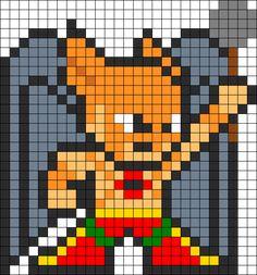 Hawkman bead pattern