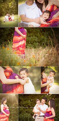 family maternity photography, baby photography, outdoor family photography, pregnancy photography, bright, colorful