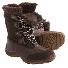 NEW Pajar Canada Alina Snow Boots -Sz 8 Stay cute, cozy, and dry with these coffee hued, leather, seam-sealed waterproof boots from Pajar Canada!  A wooly Sherpa lining and insulated midsole made from heat-reflecting aluminum, felt, & wool will keep your tootsies toasty warm in temps up to -22 degrees F!!  And grippy rubber outsoles with snow traction will keep you feeling steady on your feet all winter long. You can't go wrong with these brand NEW IN BOX boots! Pajar Canada Shoes Winter…
