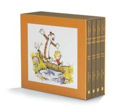 The Complete Calvin and Hobbes is a fun way to spend time reading with your kids. You'll be ready to put them to bed but they will want to keep reading. How awesome is that?!