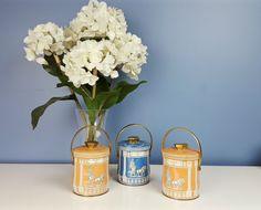 Vintage Murray Allen Collectible Tin Pails ROMAN by CurioBoxx